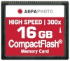 AgfaPhoto mälukaart Compact Flash 16GB High Speed 300x MLC