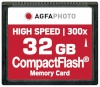 AgfaPhoto mälukaart Compact Flash 32GB High Speed 300x MLC