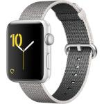 Apple nutikell Watch 2, 42mm hõbedane, Aluminum Case Pearl Nylon Band