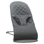 BabyBjörn lamamistool Bliss Anthracite, Cotton (006021)