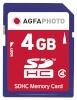 AgfaPhoto mälukaart SDHC 4GB
