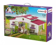 Schleich mängukomplekt Horse Club Riding Centre with Rider and Horses (42344)