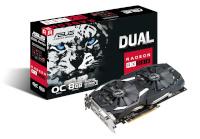 ASUS videokaart DUAL Radeon RX 580 8GB GDDR5 OC
