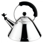 ALESSI veekeetja Stainless steel induction cooker with must handle and whistle