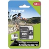 Integral mälukaart microSDXC for Action Camera (tested with GoPro), 64GB