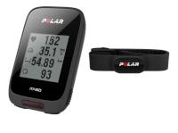 Polar rattakompuuter M460 GPS must + HR pulsivöö H10