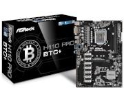 ASRock emaplaat H110 PRO BTC+ LGA1151 mATX