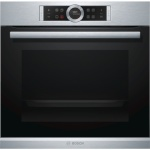 Bosch integreeritav ahi Oven HBG672BS1 Multifunction, 71 L, Stainless steel, Pyrolysis, Rotary and electronic, Height 60 cm, Width 60 cm