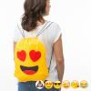 BGB Nöörkinnitusega Seljakott Emotikonid Kujundus Love