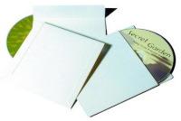 CD-ümbrikud valge 50-pakk