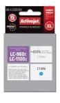 Activejet tindikassett AB-1100CNX (Brother, LC1100C/980C supreme 19,5ml tsüaan)