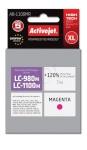 Activejet tindikassett AB-1100MR (Brother, LC1100M/980M premium 7ml magenta)