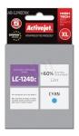Activejet tindikassett AB-1240CNX (Brother, LC1240C/1220C supreme 12ml tsüaan)