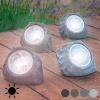 BGB Päikesepatareidega Kunstkivi (4 LED) Värvus