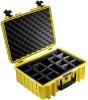 B&W kohver Outdoor Case Type 5000 kollane + Padded Divider vaheriiuliga, kollane