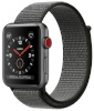 Apple nutikell Watch Series 3 GPS + Cellular 42mm Space Gray Aluminum Case with Dark Olive Sport Loop