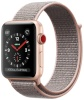Apple Watch Series 3 GPS + Cellular 42mm Gold Aluminum Case with Pink Sand Sport Loop